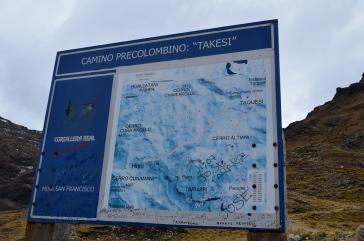 Start Taquesi trail