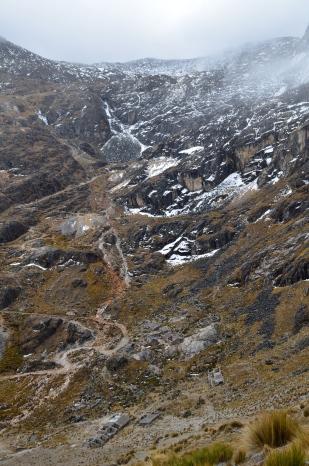 uitzicht Takesi trail