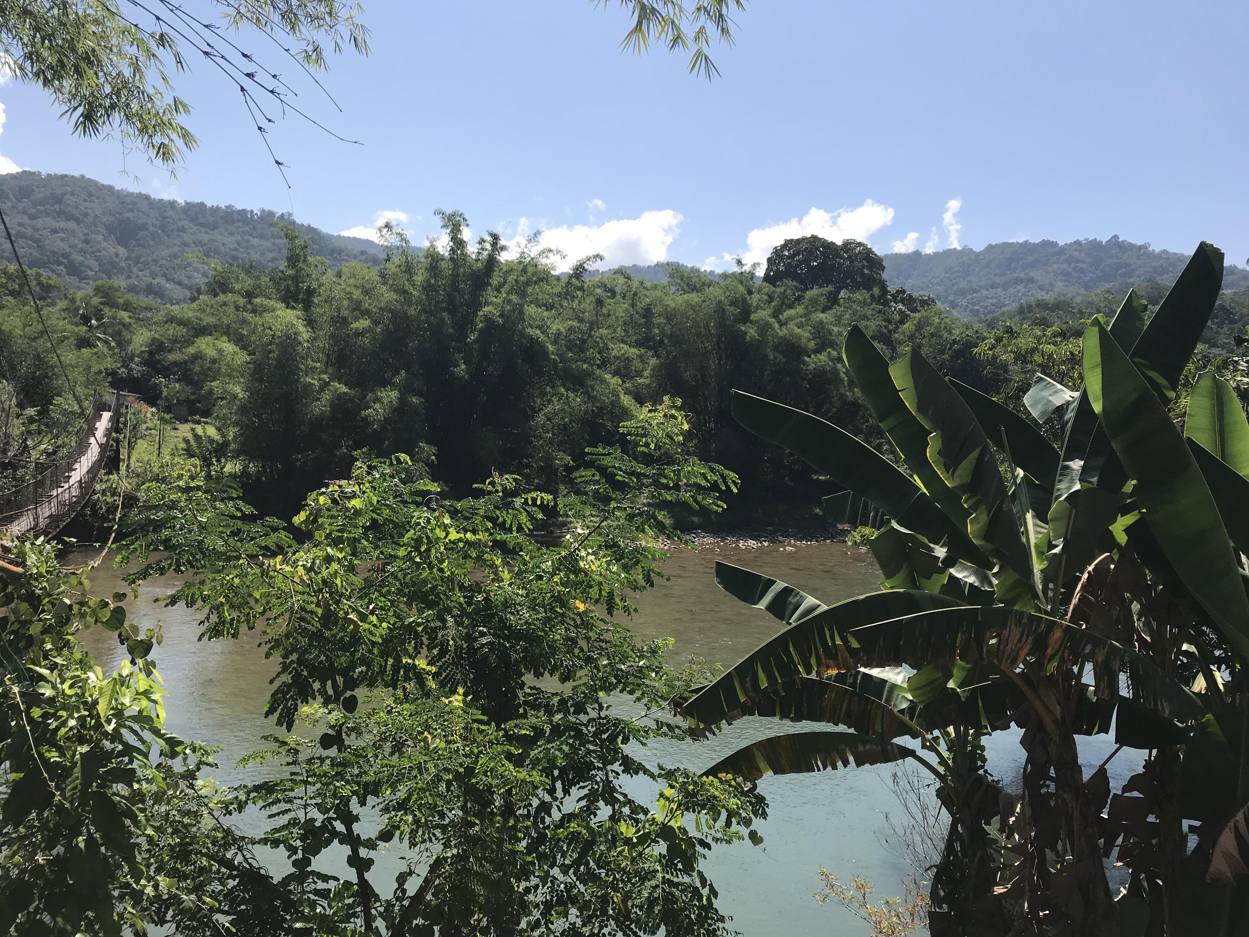 Kiulu rivier, mountainbiken Kota Kinabalu Borneo Maleisië