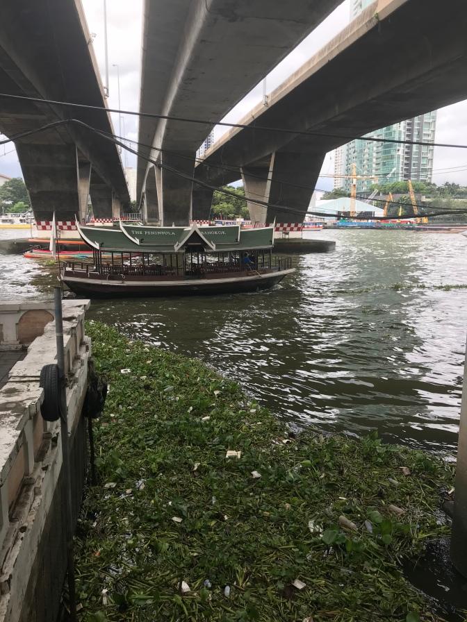Chao Phraya river Bangkok