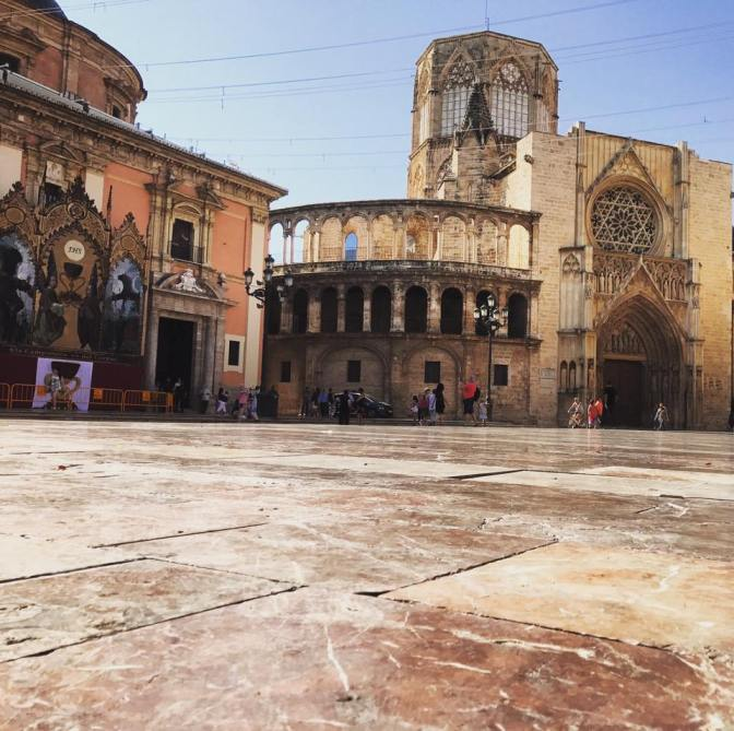 Valencia Plaza de la Reina